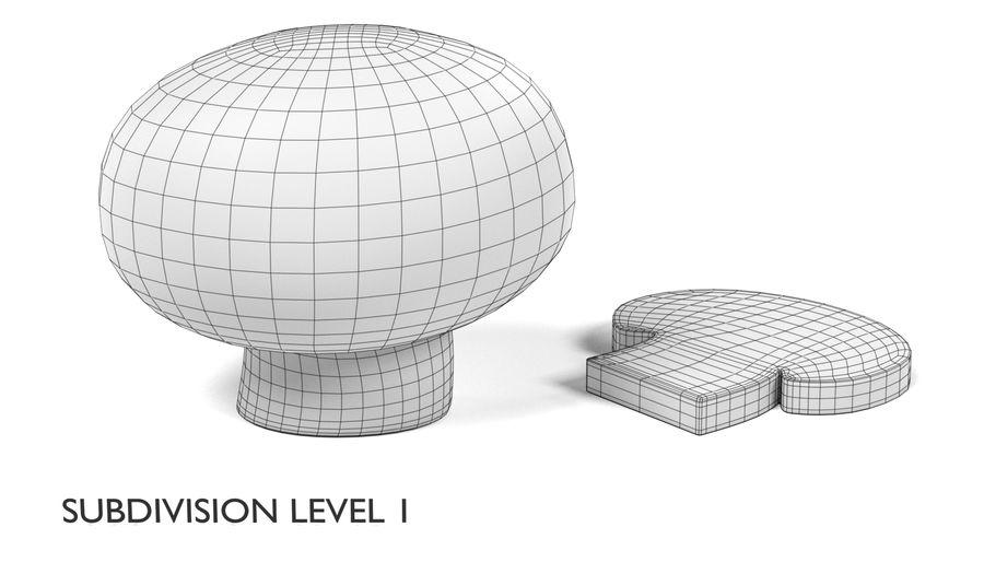 Champignon royalty-free 3d model - Preview no. 7
