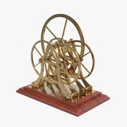 Reibräder von Atwood Machine 3d model