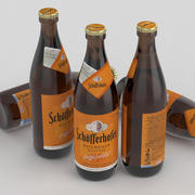 啤酒瓶Schofferhofer Hefe Weissbier Naturtrub 500ml 3d model