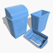 プラスチック製ゴミ箱 3d model
