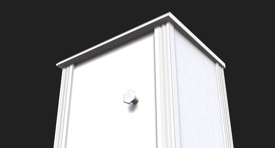 Table de chevet royalty-free 3d model - Preview no. 14