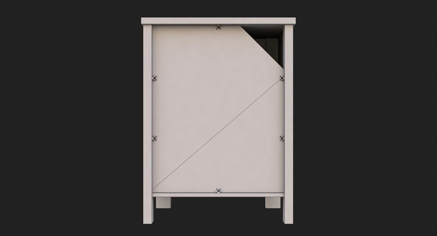 Table de chevet royalty-free 3d model - Preview no. 12