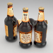 Beer Bottle Wells Sticky Toffee Pudding Ale 500ml 3d model