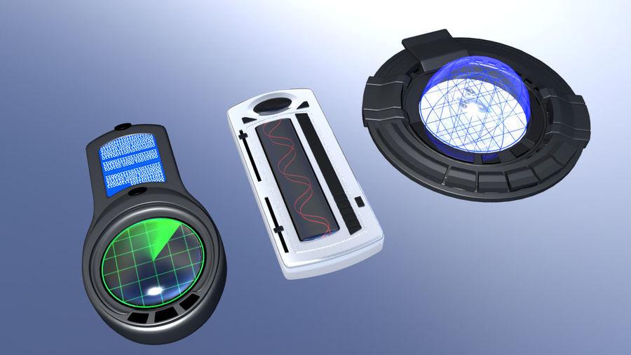 科幻小工具 royalty-free 3d model - Preview no. 3
