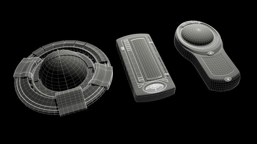 科幻小工具 royalty-free 3d model - Preview no. 15