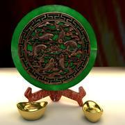 中国の金塊 3d model