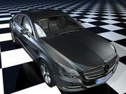 Benz cls 3d model