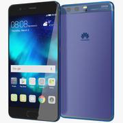 Huawei P10 bländande blå 3d model
