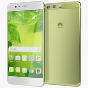 Huawei P10 Plus Yeşillik 3d model