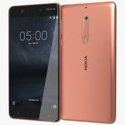 Nokia 5 koppar 3d model