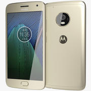 Motorola Moto G5 Plus goud 3d model