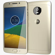 Motorola Moto G5 Gold 3d model