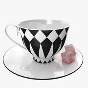 Кружка кофе 3d model
