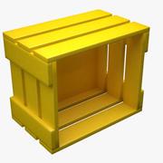 Kubisk vägghylla 3d model