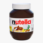 Nutella Jar 3d model