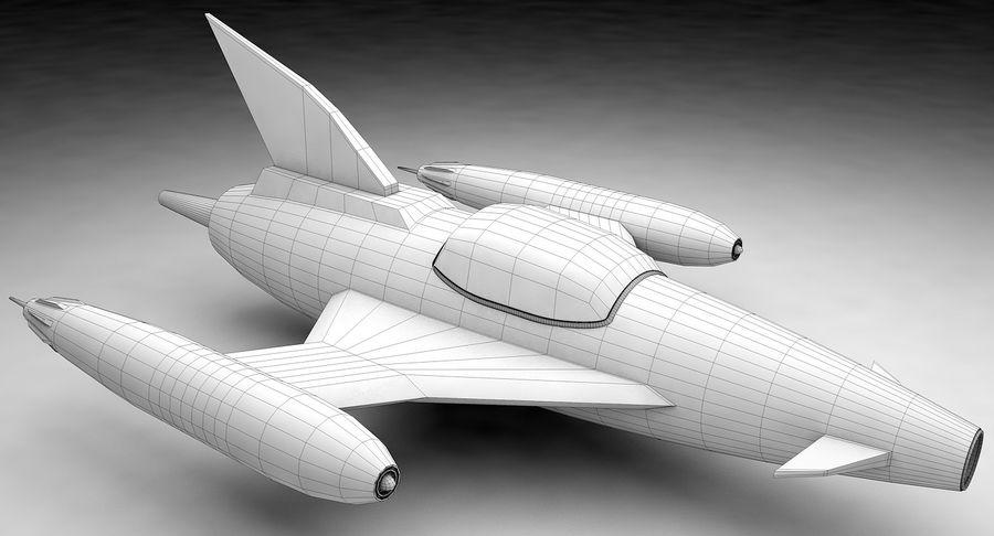 Aviões a jato royalty-free 3d model - Preview no. 12