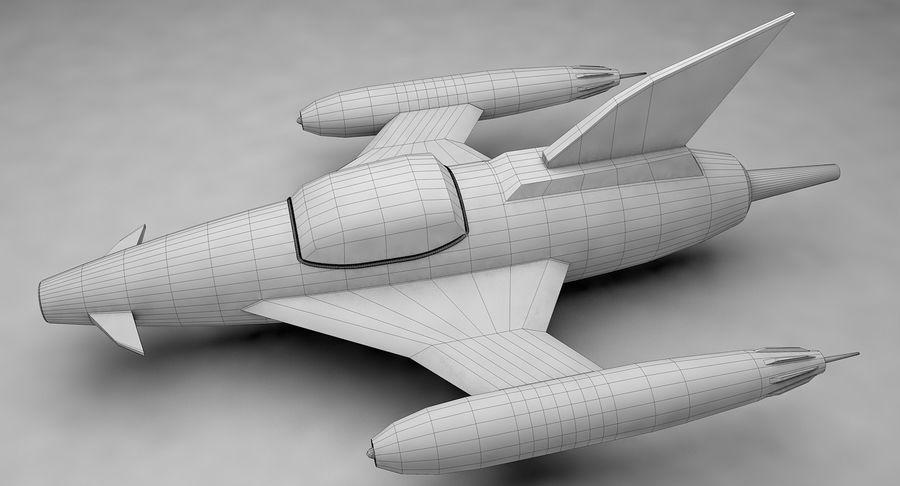 Aviões a jato royalty-free 3d model - Preview no. 15