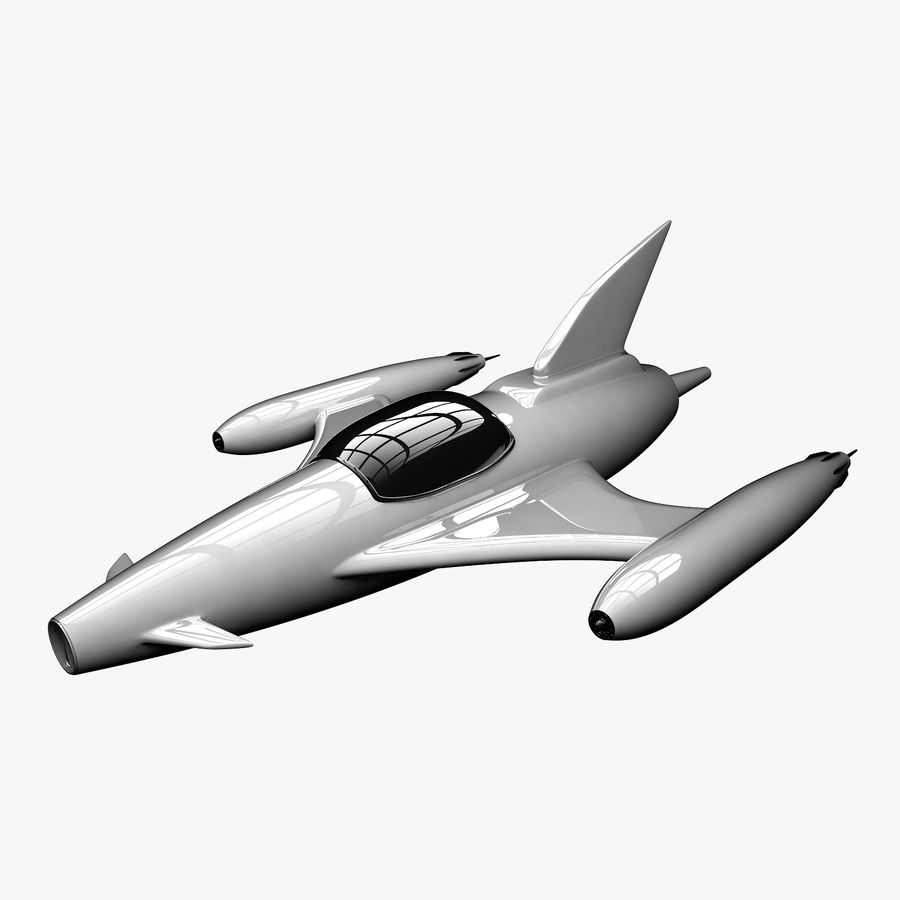 Aviões a jato royalty-free 3d model - Preview no. 1