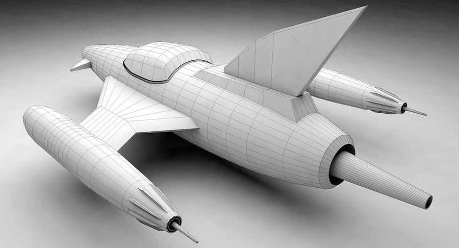 Aviões a jato royalty-free 3d model - Preview no. 14