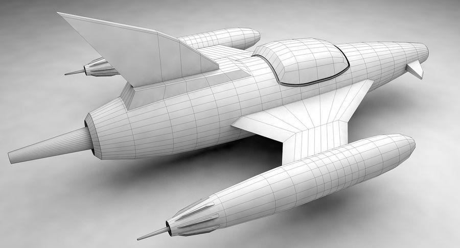 Aviões a jato royalty-free 3d model - Preview no. 13