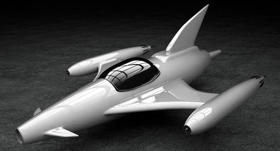 Aviões a jato royalty-free 3d model - Preview no. 3