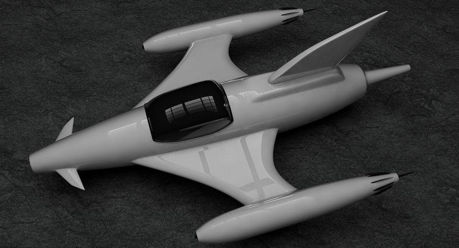 Aviões a jato royalty-free 3d model - Preview no. 10