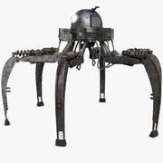 Robot Örümcek 3d model