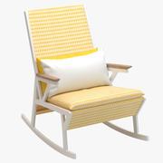 Poltrona a dondolo Kettal Vieques 3d model