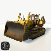 Bulldozer mid poly 3d model