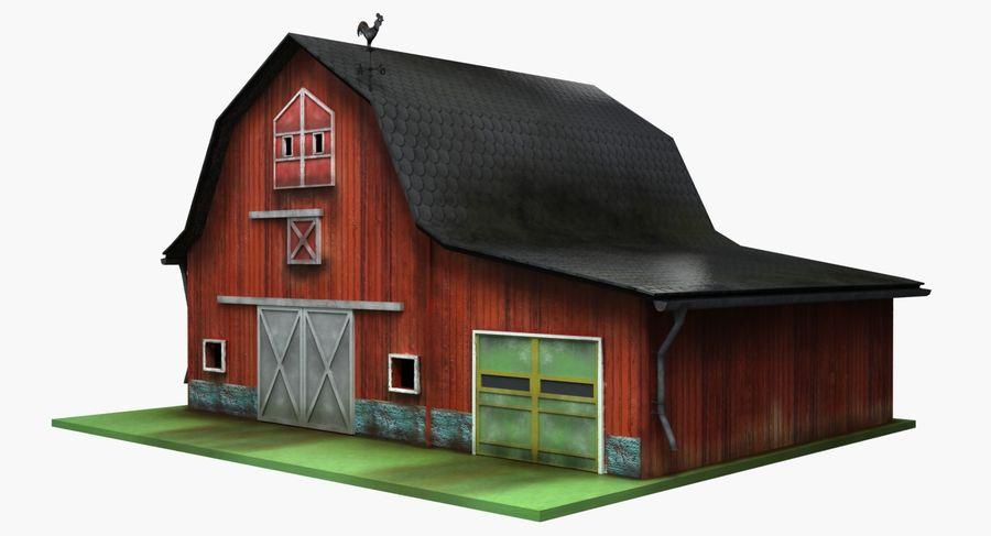 외양간 royalty-free 3d model - Preview no. 6