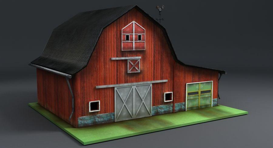 외양간 royalty-free 3d model - Preview no. 3