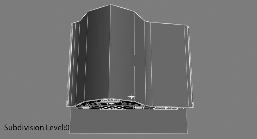 외양간 royalty-free 3d model - Preview no. 11