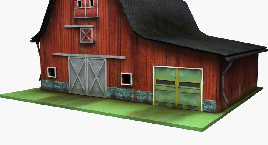 외양간 royalty-free 3d model - Preview no. 8