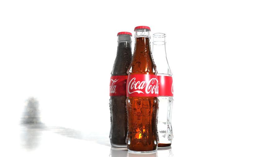 Бутылки кока-колы royalty-free 3d model - Preview no. 3