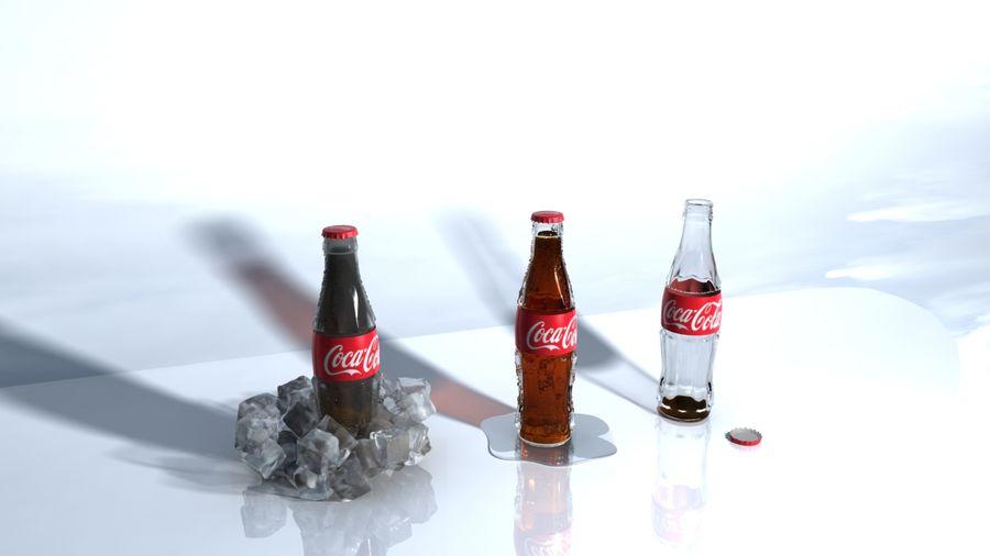 Бутылки кока-колы royalty-free 3d model - Preview no. 4