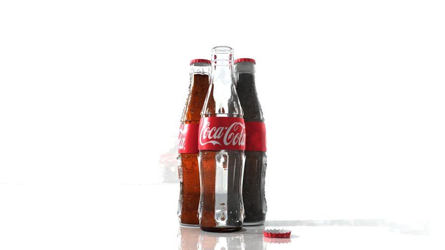 Бутылки кока-колы royalty-free 3d model - Preview no. 1