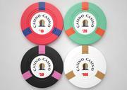 Casino Chips 3d model