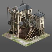 Coal Mine Game Asset 3d model
