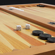 Backgammon 3D Model 3d model