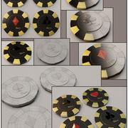 Casino Chip 3D-Modelle 3d model