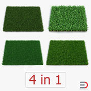 Grass Fields 3D Models Collection 3 3d model
