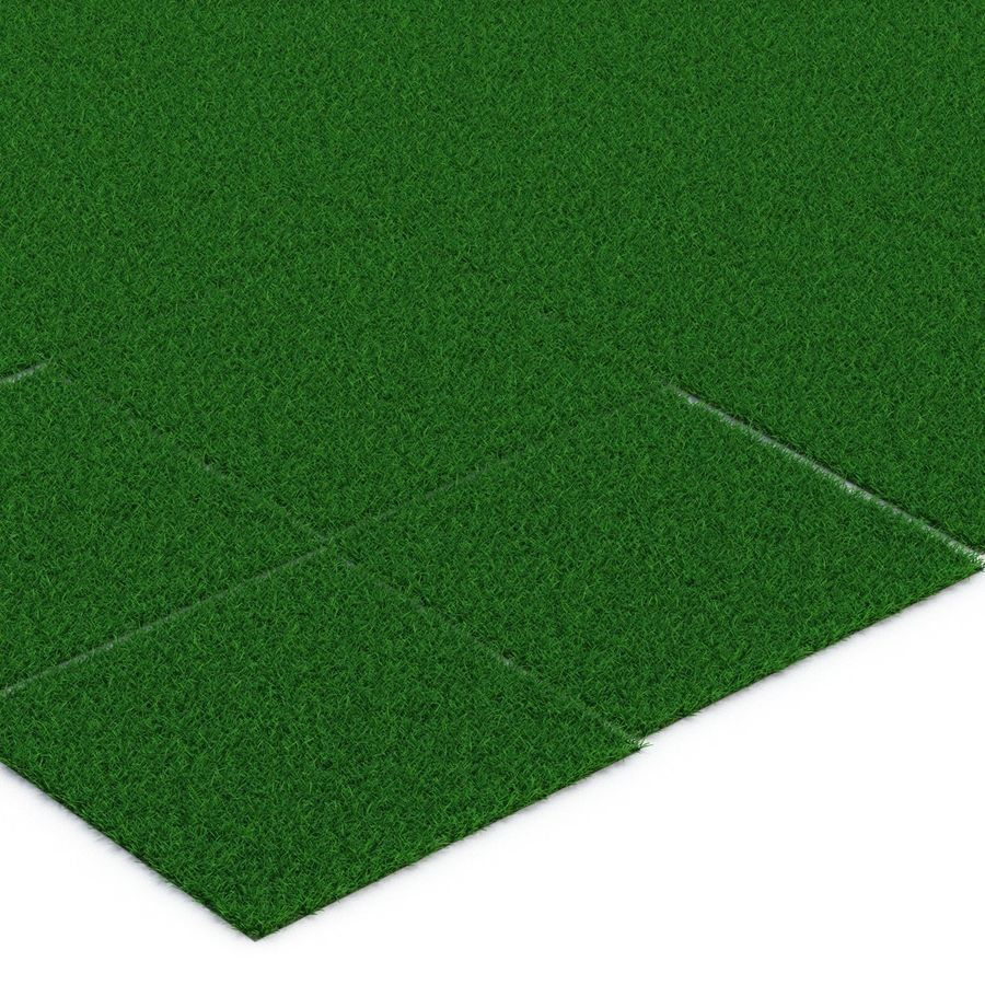 Grass Fields 3D Models Collection 3 royalty-free 3d model - Preview no. 15