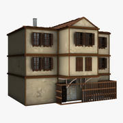 Animação House 3d model
