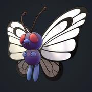 Butterfree Pokemon 3d model