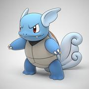 Wartortle Pokemon 3d model