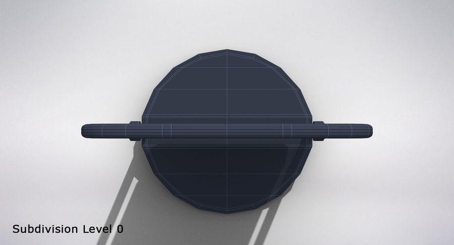 Schaukel Zeichen royalty-free 3d model - Preview no. 16