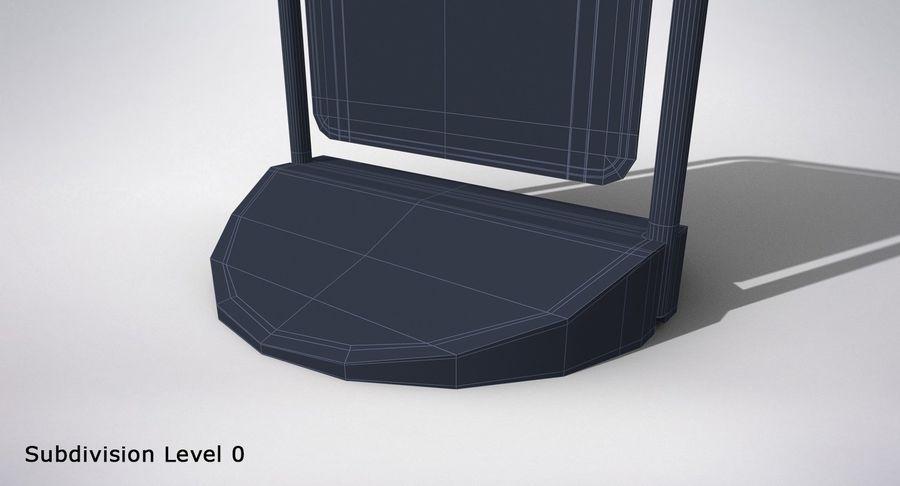 Schaukel Zeichen royalty-free 3d model - Preview no. 20