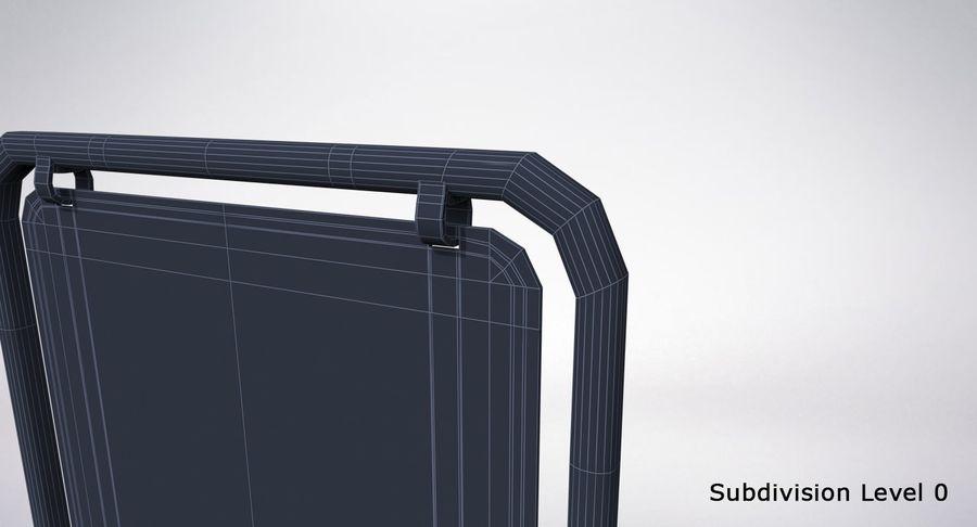 Schaukel Zeichen royalty-free 3d model - Preview no. 22