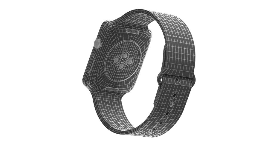 Apple Watch 2 royalty-free 3d model - Preview no. 11