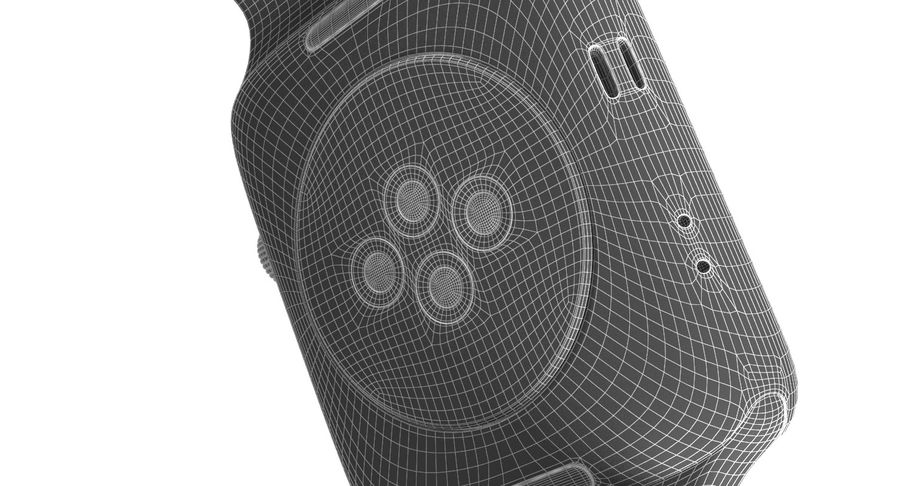 Apple Watch 2 royalty-free 3d model - Preview no. 16